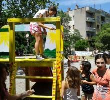 GALERIJA: Obnova igrališta u ul. S. Markovića u Podgorici