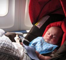 Putovanje sa novorođenčetom u avionu