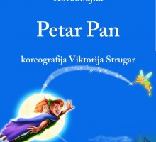 Večeras premijera koreobajke Petar Pan