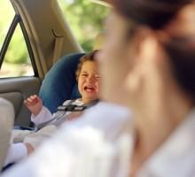 Šta možete uraditi kad beba neće u auto sjedište