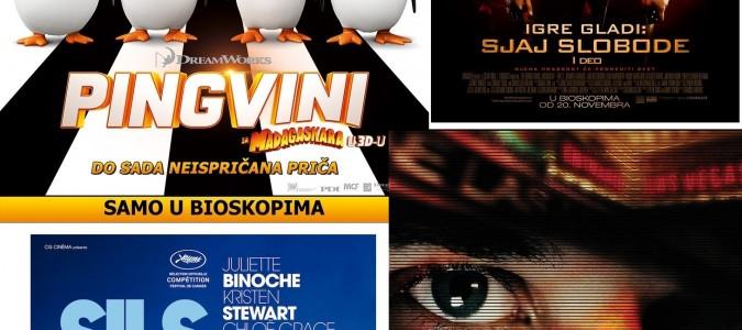Program Cineplexxa do 26. novembra