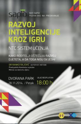 Danas predavanje za roditelje Ranka Rajovića u Herceg Novom
