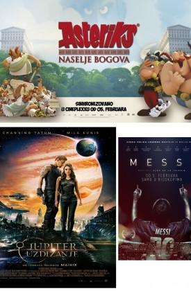 Program Cineplexxa do 11. februara