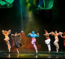Koreobajka Aladin za podršku Udruženju samohranih roditelja