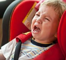 Savjeti psihologa kako smjestiti dijete u auto sjedište
