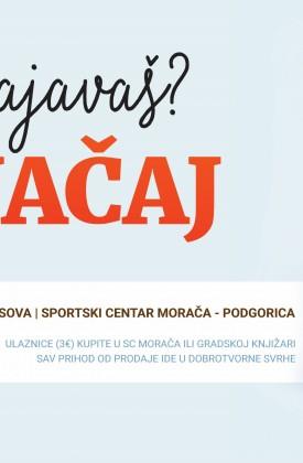Nik Vujičić sjutra u Podgorici