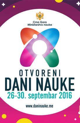 Festival nauke u 6 crnogorskih gradova