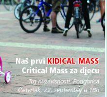U četvrtak Kidical Mass – biciklistička vožnja namijenjena djeci