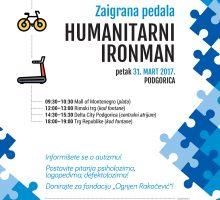 Zaigrana pedala stiže u Podgoricu – večeras predavanje, sjutra humanitarni Ironman