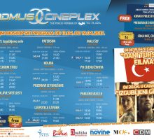 Četiri nova filma u bioskopu Cadmus Cineplexx u Budvi