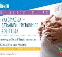 U četvrtak epidemiolog Senad Begić sa roditeljima  o vakcinaciji