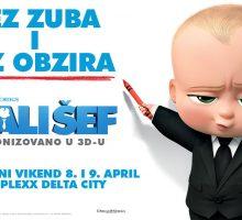 Premijerno u Cineplexxu animirana avantura Mali šef